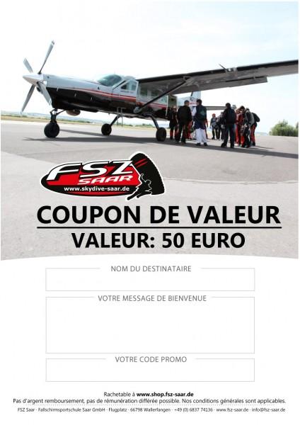 Coupon de Valeur 50€