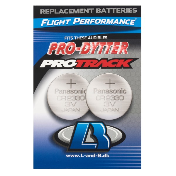 Batteries for Pro-Track, Pro-Dytter