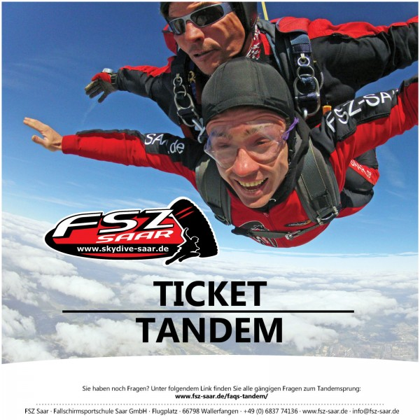 Book your tandem skydive