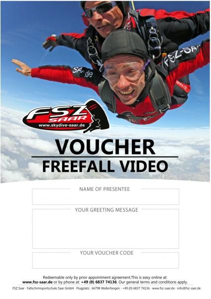 Voucher Freefall Video